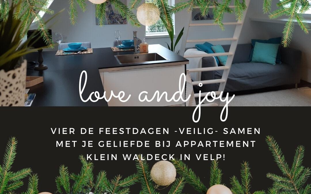 Vier de feestdagen met je geliefde!