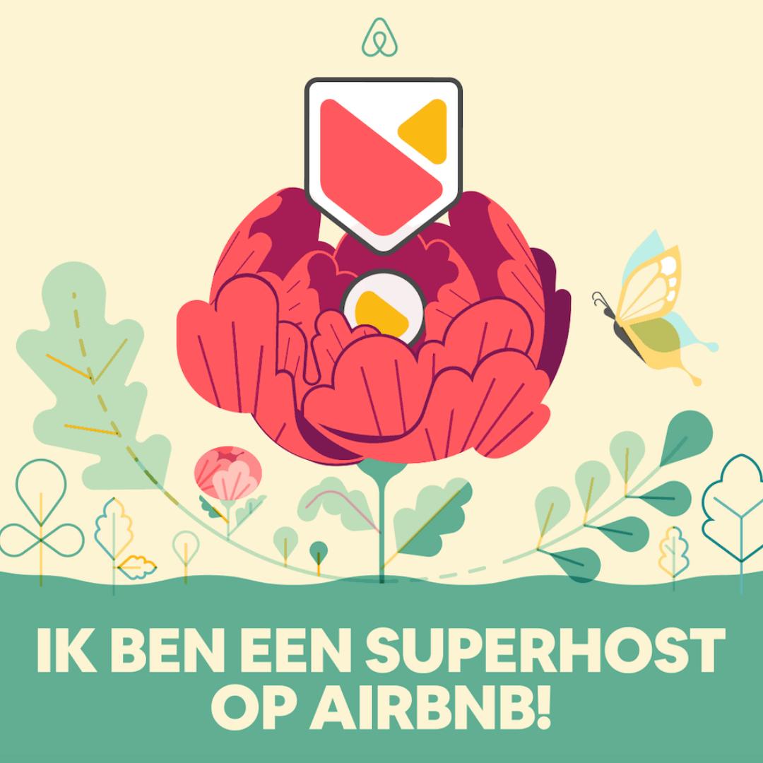 Ik ben een Superhost op Airbnb