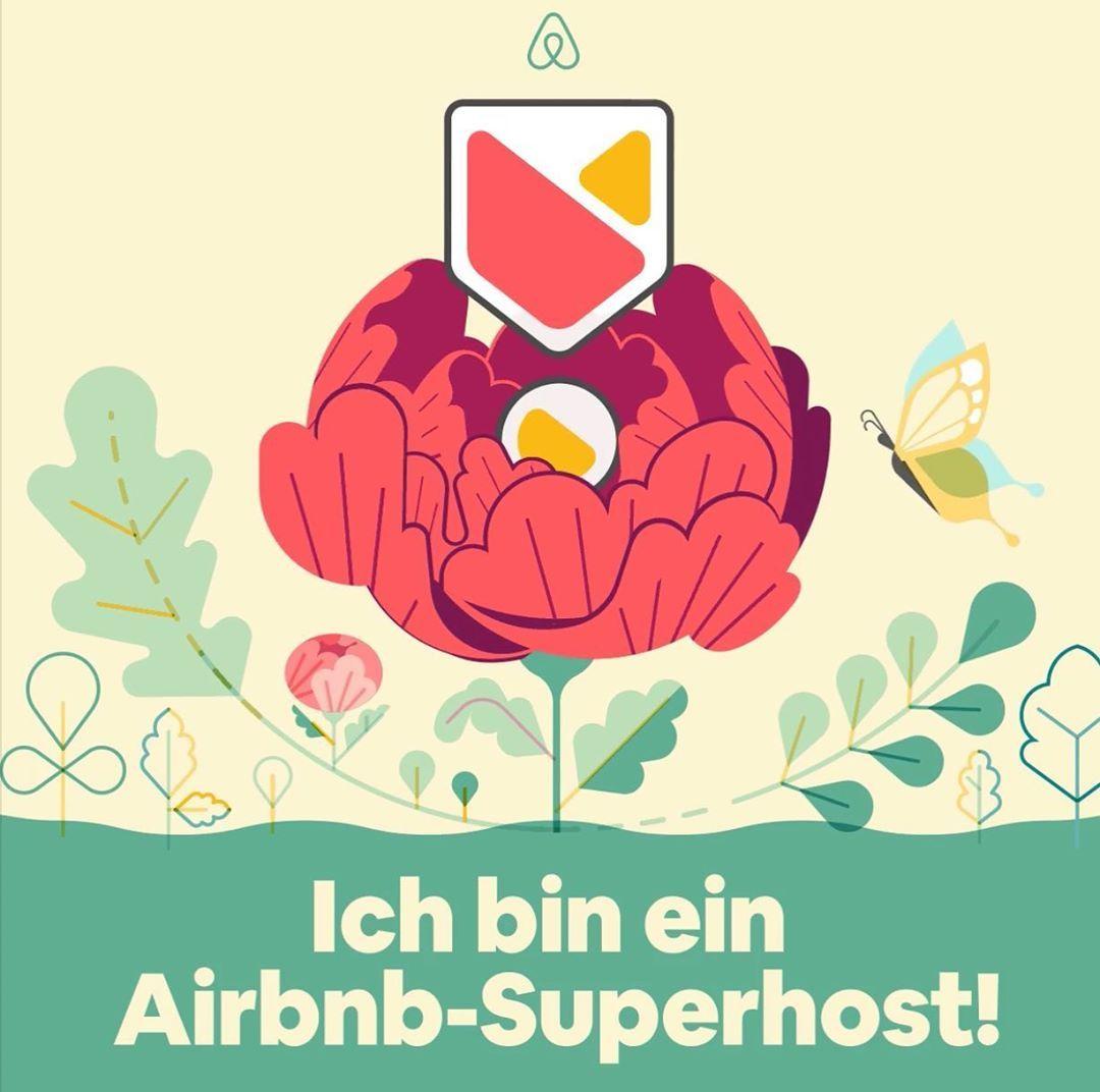 Ich bin ein Airbnb Superhost
